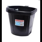 Tuff Stuff Rubber Flat Back Bucket 18 qts