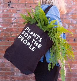 Plant Plant Merch : Tote : Black : Plants for the People