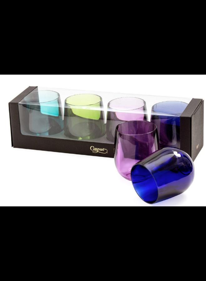 Tumbler Gift Set - Acrylic Jewel Tones