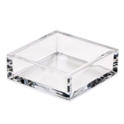 Caspari Cocktail Napkin Holder - acrylic