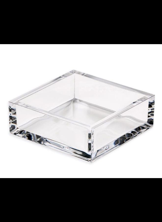 Cocktail Napkin Holder - Acrylic Crystal Clear