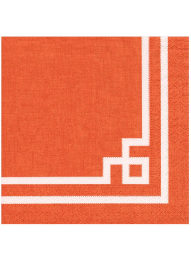 Luncheon Napkin - Rive Gauche Orange