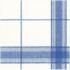 Caspari Luncheon Napkin - Belgian Linen Blue