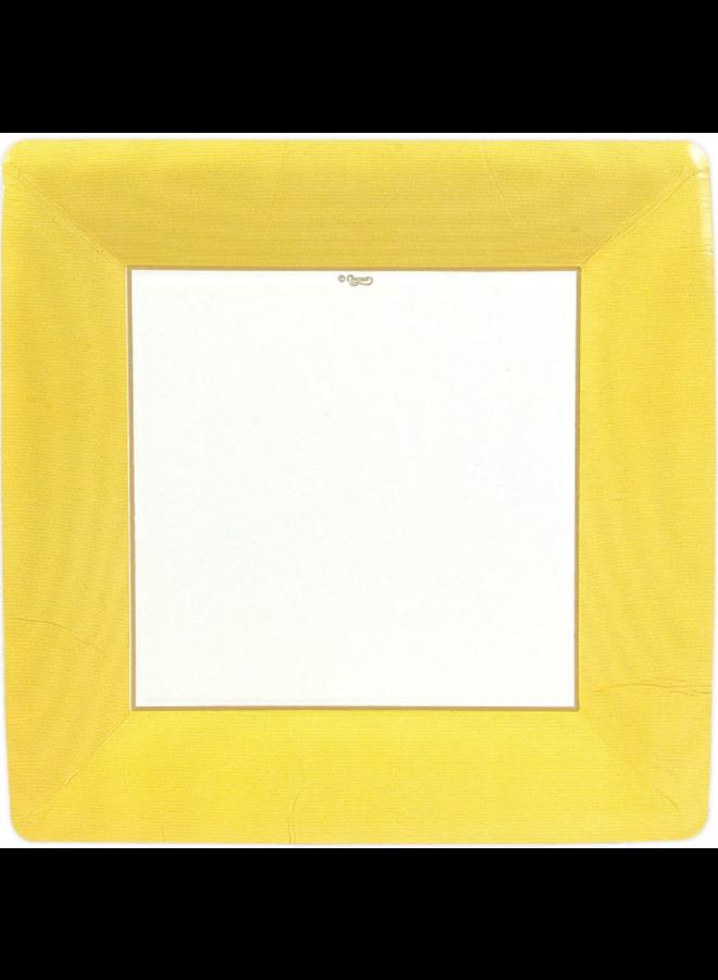 Dinner Plate - Yellow