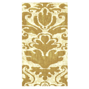 Caspari Guest Towel - Palazzo - Ivory