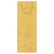 Caspari Wine Bag - Antique Gold