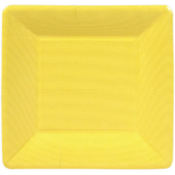 Caspari Salad Plate - Yellow