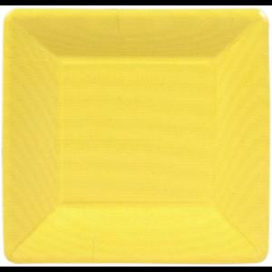 Caspari Salad Plate - Yellow