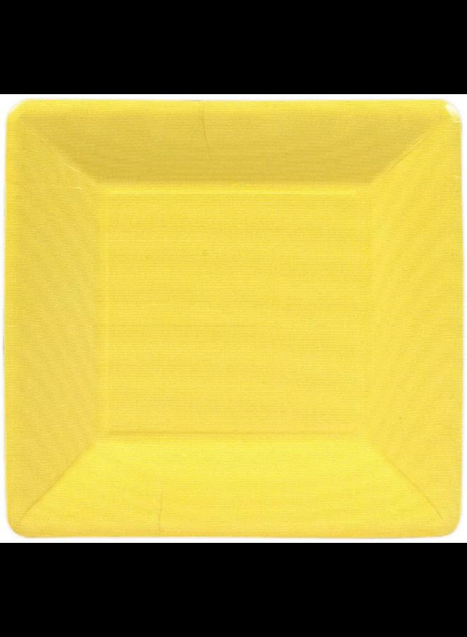 Salad Plate - Yellow