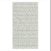 Caspari Guest Towel - Amalia Ikat Grey