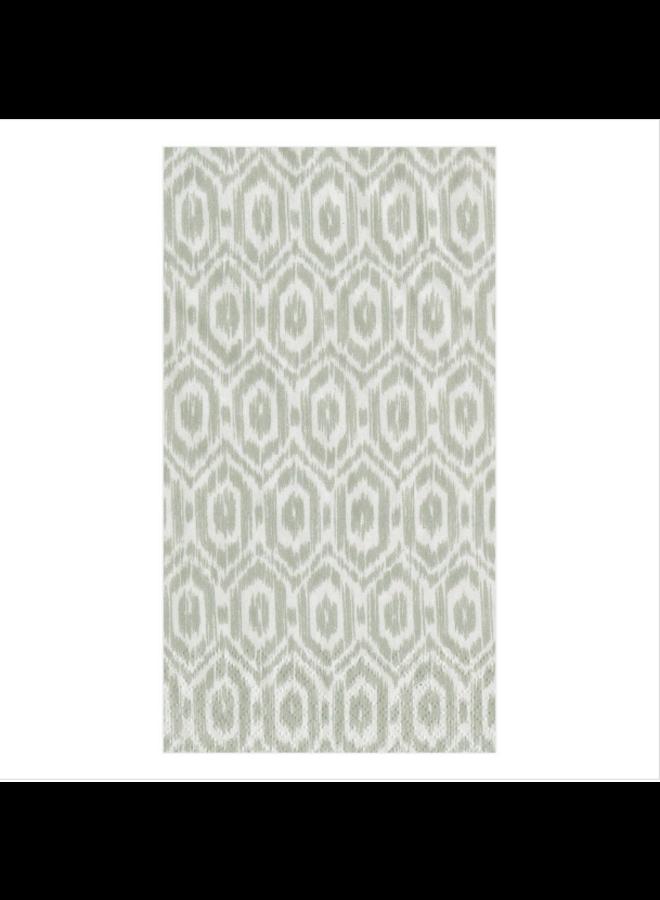 Guest Towel - Amala Ikat Grey