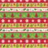 Caspari Wrapping Paper Calico Ornaments