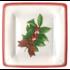 Caspari Salad Plate - Holly