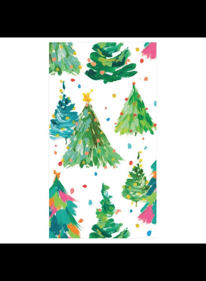 Guest towel - Brushstroke Trees