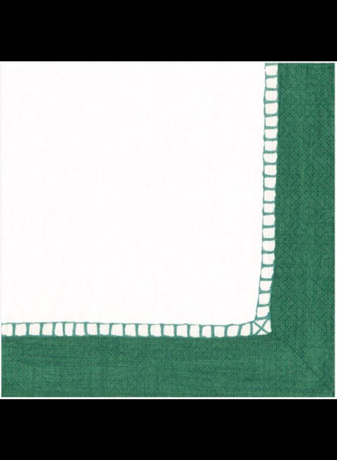 Luncheon Napkin - Linen  emerald