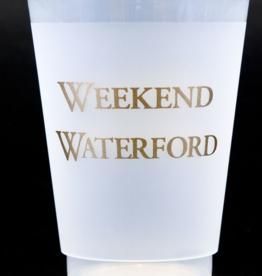 Print Appeal Shatterproof Cups - Weekend Waterford Gold