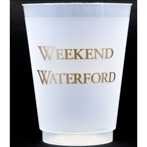 Print Appeal Shatterproof Cups - Weekend Gold