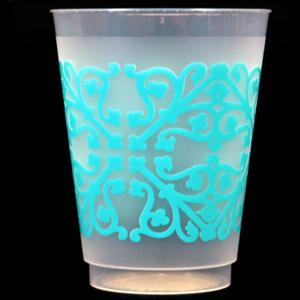 Print Appeal Shatterproof Cups - Blue Pattern