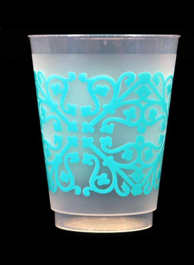 Shatterproof Cups - Blue Pattern