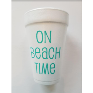 Print Appeal Foam Cups - Palm Tree\Beach Time