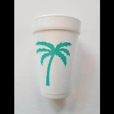 Print Appeal Foam Cups - Palm Tree\Beach Time