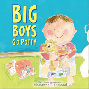 Sourcebooks Big Boys Go Potty