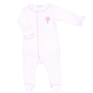 Magnolia Baby Sky's the Limit Ruffle Footie