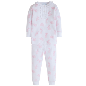 Little English Pink Bunny Pajamas