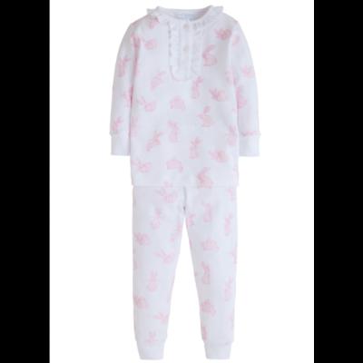 Little English Pink Bunny Pajamas