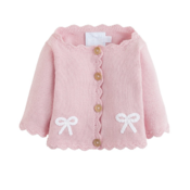 Little English Sweater pink bow