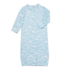 Angel Dear Baby Beluga Bamboo Gown 0-3M