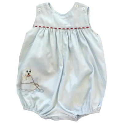 Lullaby Set Pique Fishing Puppy Bubble