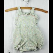 Lullaby Set Floral Knit Bibb Bubble