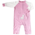 Silkberry Baby Romper pink giraffe