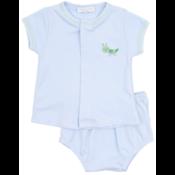 Magnolia Baby Tiny Grasshopper Diaper Cover Set