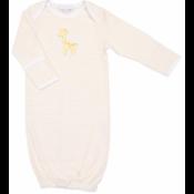Magnolia Baby Converter Gown yellow giraffe