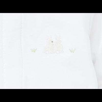 Kissy Kissy White Bunny Converter Gown - NB