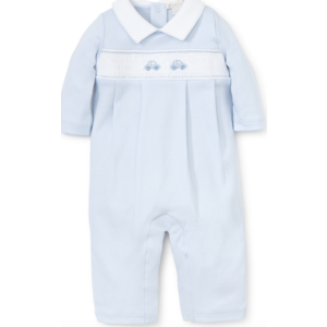 Kissy Kissy Playsuit Hand Smocked - Cars