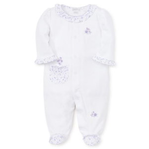 Kissy Kissy Footie - Mini Blooms - Lilac