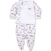 Kissy Kissy All Aboard Footed Pant Set