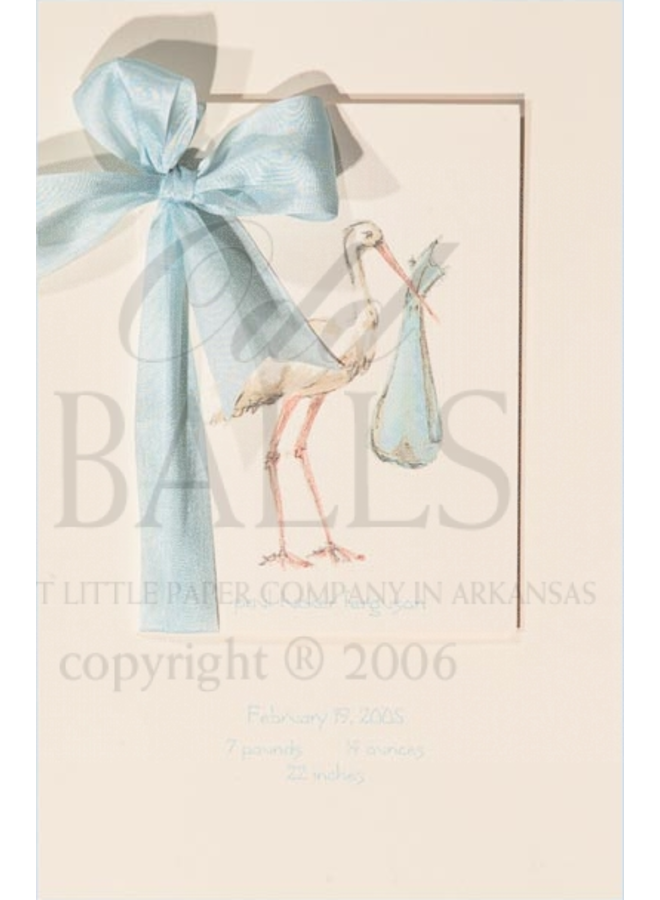 Odd Balls - Stork Blue