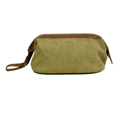 Bellemonde Bellemonde - Dopp Kit - Washed Green