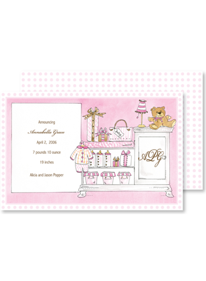 Rosannebeck - Girl Changing Table