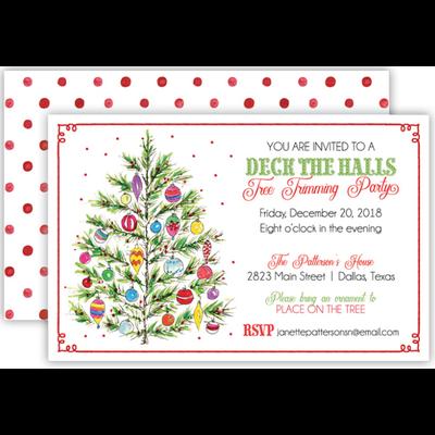 Rosannebeck Rosannebeck - Christmas tree w/ Ornaments