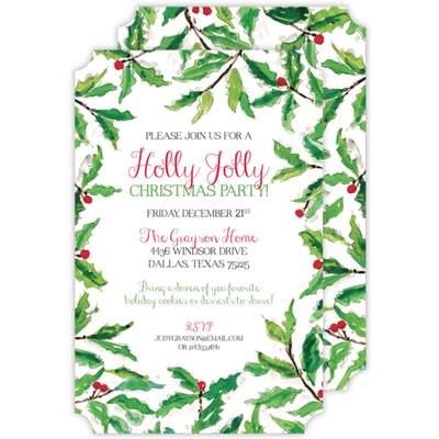 Rosannebeck Rosannebeck - Holly Border - Die-Cut