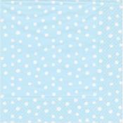 Caspari Cocktail Napkin - small dots blue
