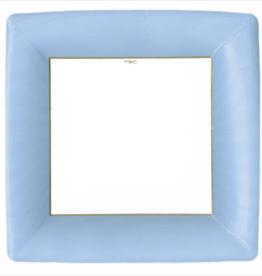 Caspari Dinner Plate - Light Blue