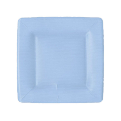 Caspari Salad Plate - Light Blue