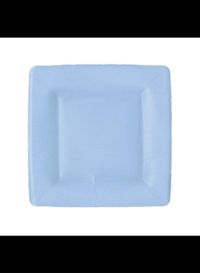 Salad Plate - Light Blue
