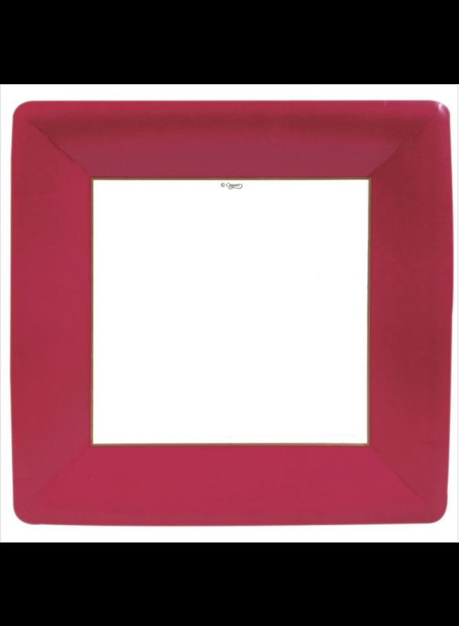 Dinner Plate - Red